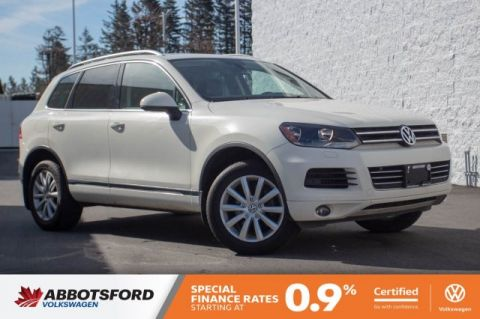 Certified Pre-Owned 2012 Volkswagen Touareg Highline TDI NO ACCIDENTS, LOW KM, DIESEL!
