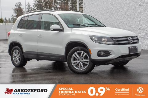 Certified Pre-Owned 2015 Volkswagen Tiguan Trendline ONE OWNER, NO ACCIDENTS, LOCAL CAR!