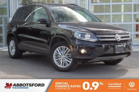Certified Pre-Owned 2015 Volkswagen Tiguan Trendline SINGLE OWNER, LOCAL CAR, SUPER LOW KM!