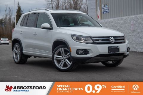 Certified Pre-Owned 2016 Volkswagen Tiguan Highline R-Line NO ACCIDENTS, AWD!