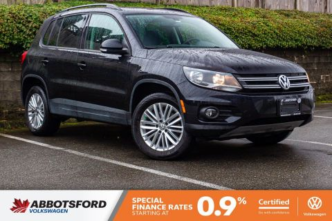 Certified Pre-Owned 2016 Volkswagen Tiguan Comfortline 4MOTION AWD, GREAT CONDITION, NO ACCIDENTS, LOCAL VEHICLE!