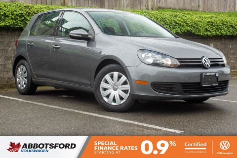 Certified Pre-Owned 2013 Volkswagen Golf Trendline GREAT CONDITION, LOW KM, LOCAL CAR!
