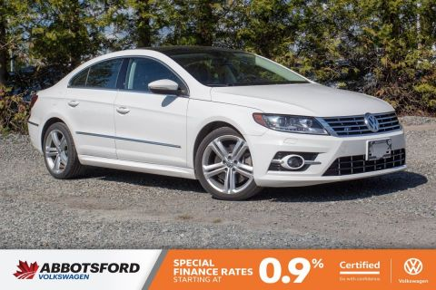 Certified Pre-Owned 2014 Volkswagen CC Highline AWD, LOCAL CAR, NO ACCIDENTS, SUPER LOW KM!